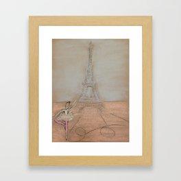 Paris Ballet Framed Art Print
