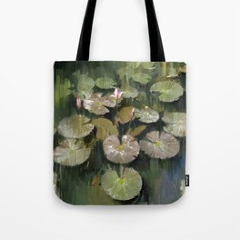 Lotus Pond 3 Tote Bag