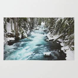 The Wild McKenzie River - Nature Photography Rug