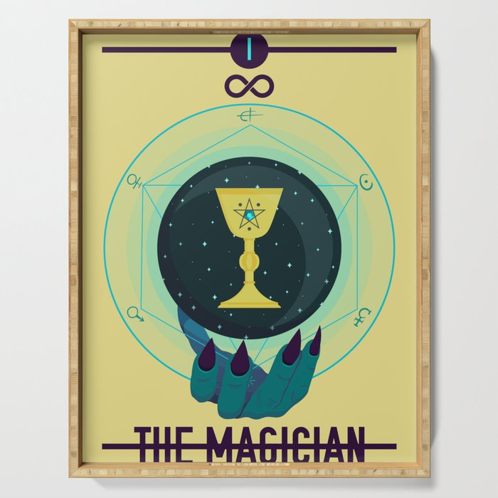 THE MAGICIAN Serving Tray