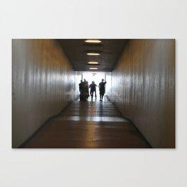 The long walk. Canvas Print