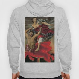 """LADY LIBERTY ABDUCTED BY THE CENTAUR MOBIL"" Hoody"