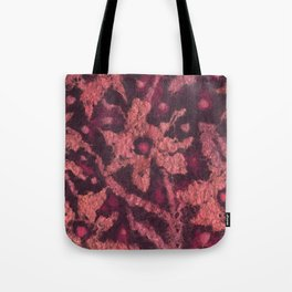 Coral flowers Tote Bag