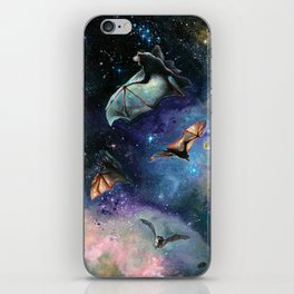 Scream of a Great Bat iPhone Skin