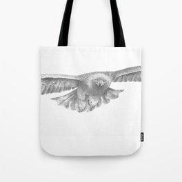 Golden eagle in flight, Aquila Chrysaetos Tote Bag