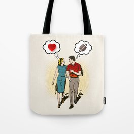 On Vastly Different Wavelengths Tote Bag