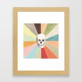 Skull is Cool Framed Art Print