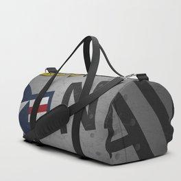 U.S. Military Warbird Naval Aircraft Skin Duffle Bag
