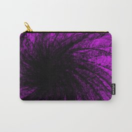 Lavender Spiral2 Carry-All Pouch