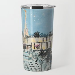 Atlanta Georgia LDS Temple Snowfall Travel Mug