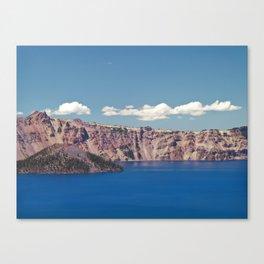 Crater Lake, Mount Mazama, Oregon, Northwest Mountain Canvas Print