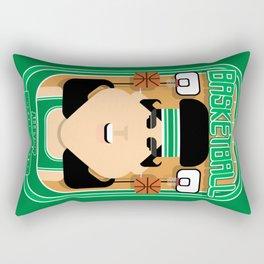 Basketball Green - Alleyoop Buzzerbeater - Amy version Rectangular Pillow