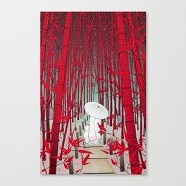 Yuki- onna Canvas Print