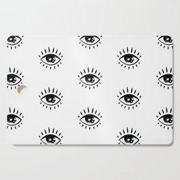 Evil Eye Magic Cutting Board