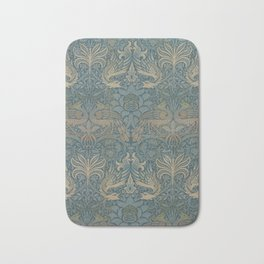 William Morris - Peacock and Dragon, 1878 Bath Mat