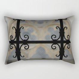 Cloister Detail Rectangular Pillow