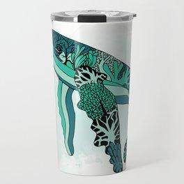Coral Reef Humpback Whale Travel Mug