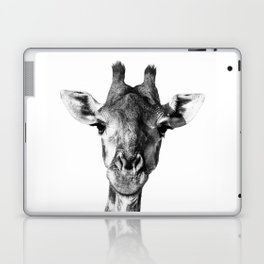 Giraffe Portrait I Laptop & iPad Skin