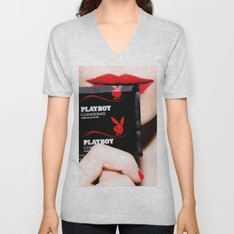 PlayBoy (C)(R)tm Unisex V-Neck
