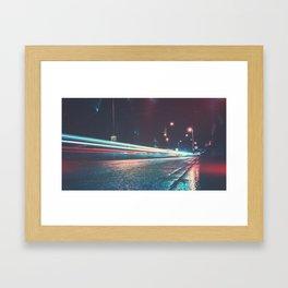 Trailing the A489 Framed Art Print