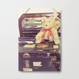 Vintage Bear Metal Print