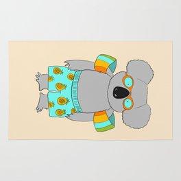 beach koala Rug