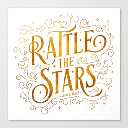 Rattle the Stars Canvas Print
