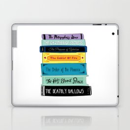 Hogwarts Stack of Wizardly Books Laptop & iPad Skin