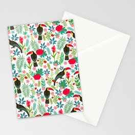 Floral Toucan Stationery Cards