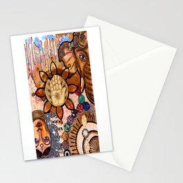 Ganesha Laxmi Blessing Stationery Cards