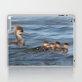 Momma and ducklings Laptop & iPad Skin