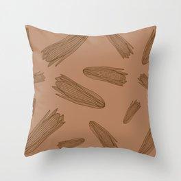 Corns Throw Pillow
