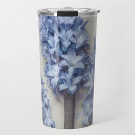 Light Blue Hyacinths Travel Mug