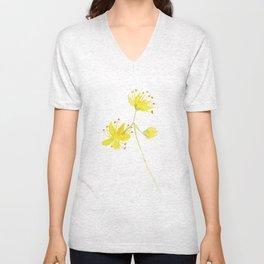 blossom Unisex V-Neck