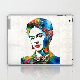 Frida Kahlo Art - Viva La Frida - By Sharon Cummings Laptop & iPad Skin