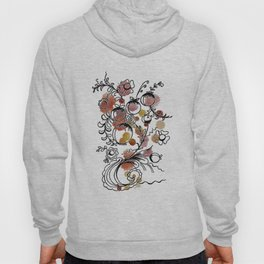 flowers and fruits watercolor  ( https://society6.com/totalflora/collection Hoody