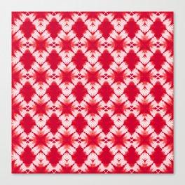 the big diamond tie dye Canvas Print