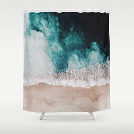 Ocean (Drone Photography) Shower Curtain