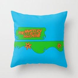 Mystery Machine Throw Pillow