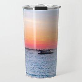 Sunset at the Beach in Darwin, Australia Travel Mug