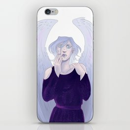 Angel of death iPhone Skin