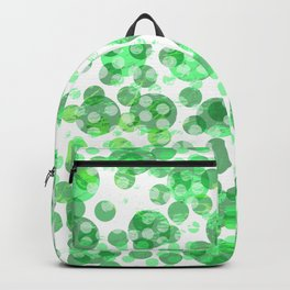 Distressed Green Spots Backpack