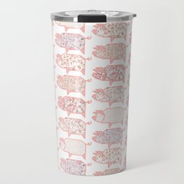 Pig Terrazzo Travel Mug