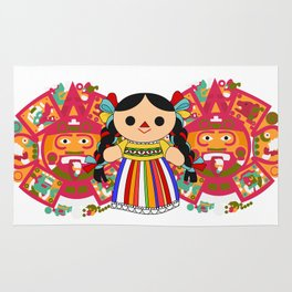 Maria 2 (Mexican Doll) Rug