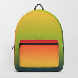 Abstract Colorful Tropical Blurred Gradient Backpack