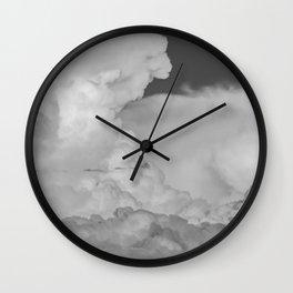 """""""Cloud Art #1"""" Desert Monsoon Sky by Murray Bolesta Wall Clock"""