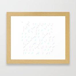 Sprinkle_Generative01 Framed Art Print