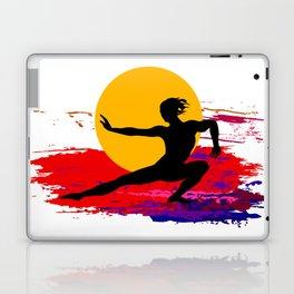 Martial art, karate, judo, aikido, self defence Laptop & iPad Skin