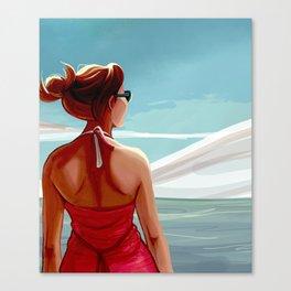 Sea Wind Canvas Print