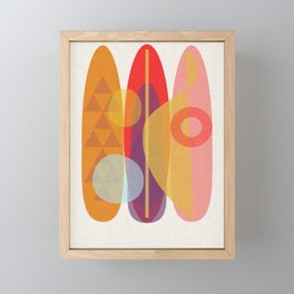 Surf 7 Framed Mini Art Print